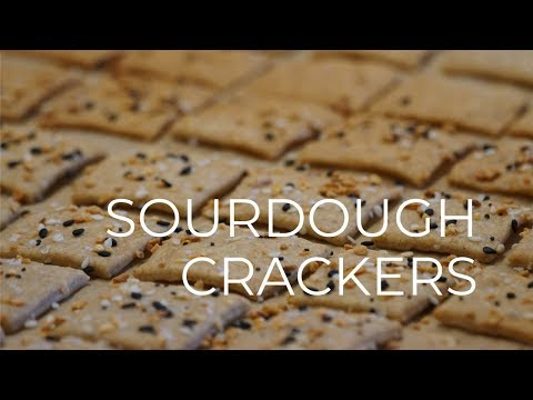 Sourdough Crackers Recipe