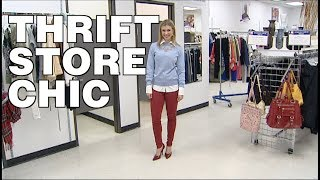 Rebecca Spera Shows You How to Go Thrift Store Chic