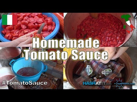 Episode #8 - Homemade Tomato Sauce with Special Guest Melissa Ciancio