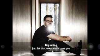 Danny Gokey - Tell Your Heart to Beat Again (lyrics video)