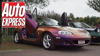 Best and worst cars at the Mazda MX-5 (Miata) 25th Anniversary rally