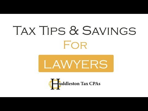 Tax Tips & Savings for Lawyers and Law Firms| Huddleston Tax CPAs