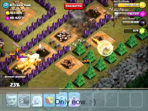 Clash of Clans | Kitchen Sink v2 with TH7 troops