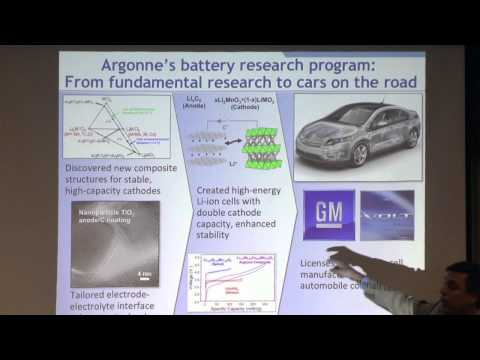 Argonne National Laboratory: Innovative Research in the National Interest | Mark Peters, ANL