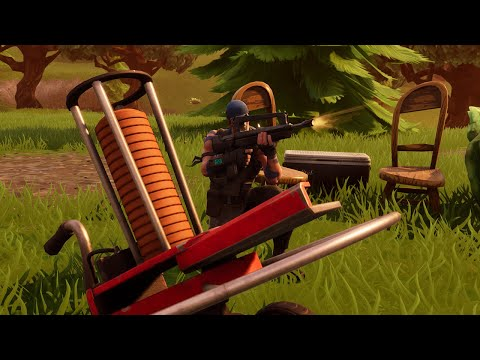 Fortnite - Shoot Clay Pigeons (Season 6, Week 8)
