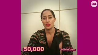 #GirlsCount | Tracee Ellis Ross - 50,000 thumbnail
