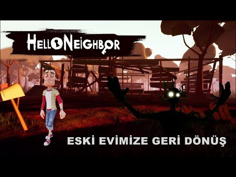 Hello Neighbor | GÖLGE YARATIĞI BİZİ İZLİYOR! ACT3 [Türkçe] #100