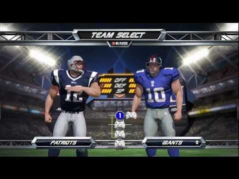 NFL Blitz (EA SPORTS) Houston Texans vs. New England Patriots *Live Commentary*