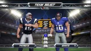 NFL Blitz (EA SPORTS) Houston Texans vs. New England Patriots *Live Commentary*