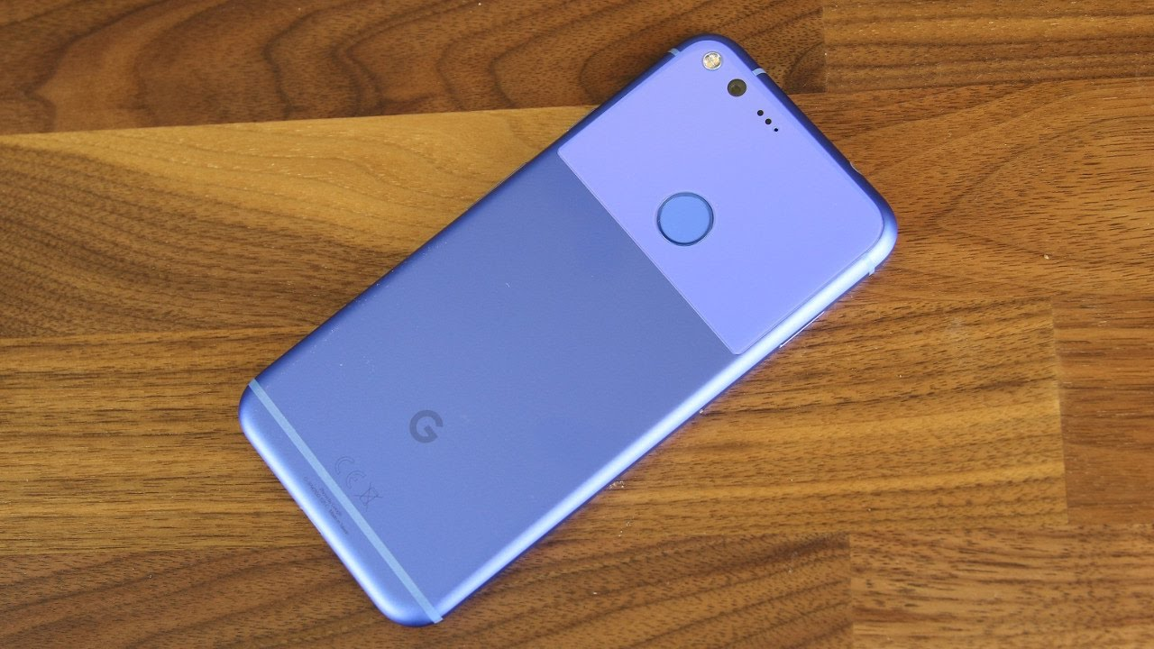 unboxing of google pixel xl in really blue color and quick review