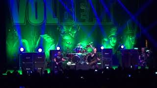 Volbeat en Chile, marzo 2018 - Parasite (New song) + The lonesome rider