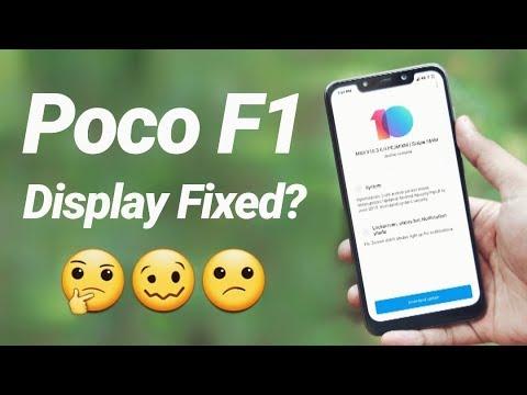 Poco F1 Display Driver Update | MIUI 10 3 6 0 Review