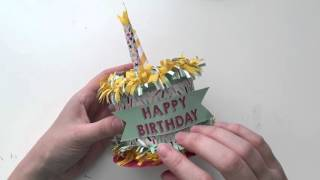 Papercraft Birthday Cake Box