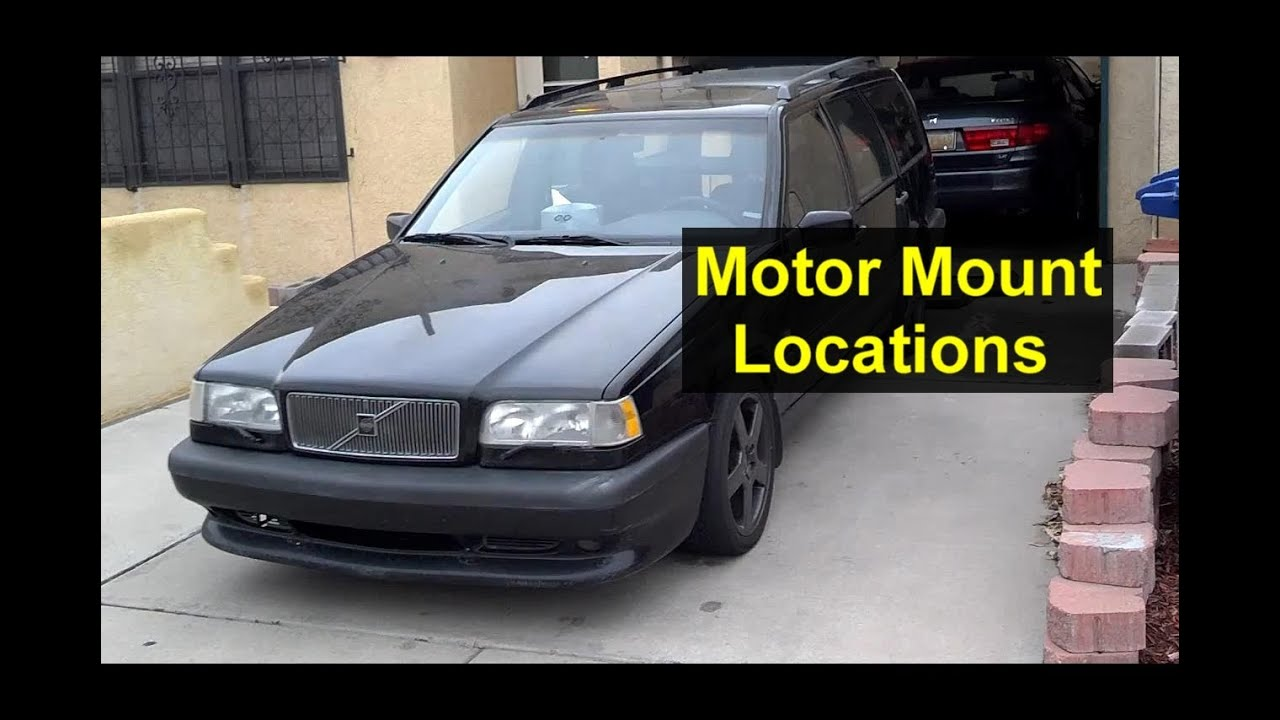 small resolution of engine motor mounts location of 3 of them volvo 850 s70 v70 1998 volvo s90 engine diagram