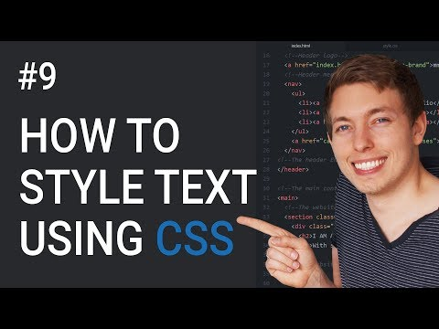 9: CSS Text Styling Tutorial | Basics Of CSS | Learn HTML And CSS | HTML Tutorial