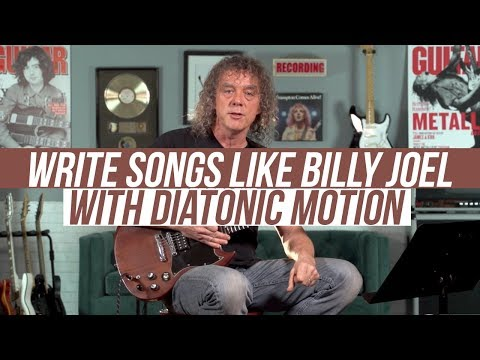 Songwriting Lesson! Billy Joel and Ozzy Osbourne Use This Cool Progression!!