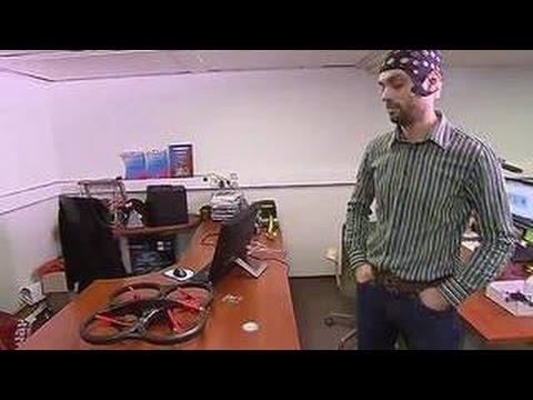 Мозголет рассказал об управлении беспилотником силой мысли