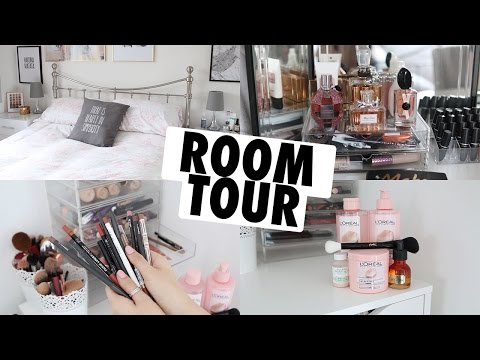 ROOM TOUR AND DRESSING TABLE TOUR 2017!