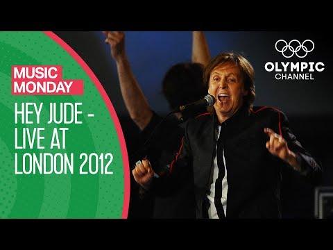Paul McCartney  Hey Jude   At London 2012  Music Monday