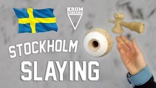 Edvin  Lukas Ep 2  STOCKHOLM SLAYING  Kendama  Stockholm Sweden