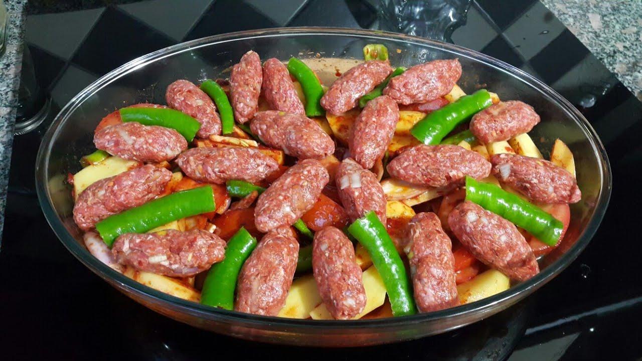 KÖFTELİ PATATES YEMEĞİ/ şenelle lezzetler