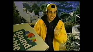 Round Table Big Vinnie Pizza Commercial 2000