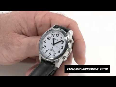 Talking Wrist Watch For the Blind and Visually Impaired