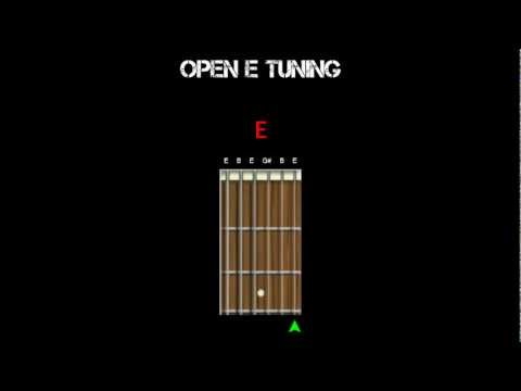 Guitar Tuning - Open E