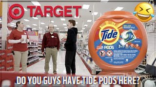MESSING WITH TARGET EMPLOYYES *KICKED OUT* (Do You Have Diapers In My Size?)