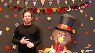 Happy Thanksgiving from Indiegogo!