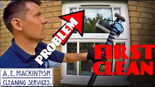 Gambar cover The Worst Thing About First Cleans Using Water Fed Pole - Window Cleaning