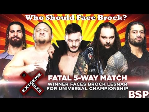 WWE Raw Review 5/15/17 :: Who Should Face Brock Lesnar For the Universal Championship