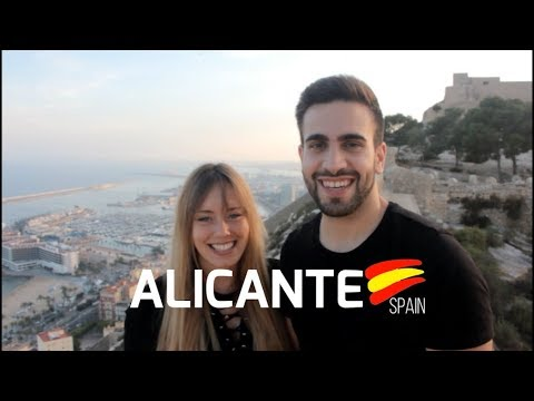 WOW air travel guide application - Alicante (Spain)