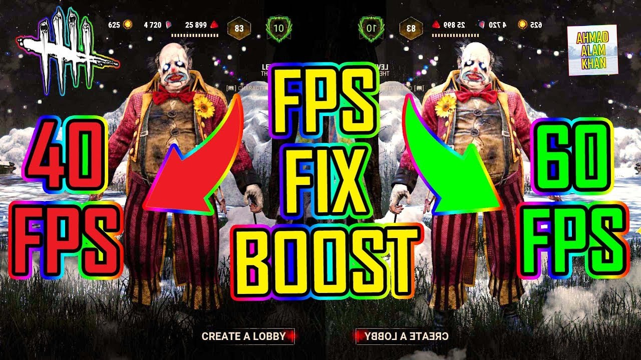 Dead by Daylight - FPS Fix & Boost 🔵 WINTER SOLSTICE EVENT 🔴 Working ✅