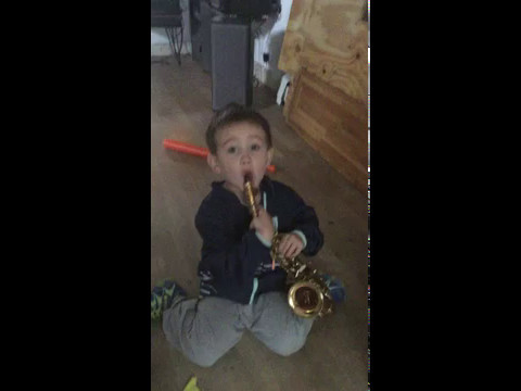 youngest sax player in the world