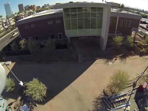 Phoenix College Aerial Fly-Over