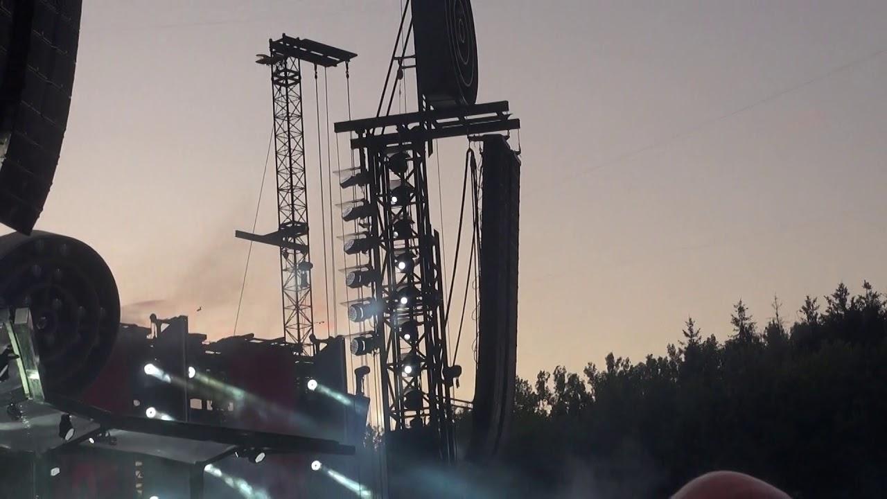 Rammstein (Links) au Luxembourg à Roeser sam 20 juillet