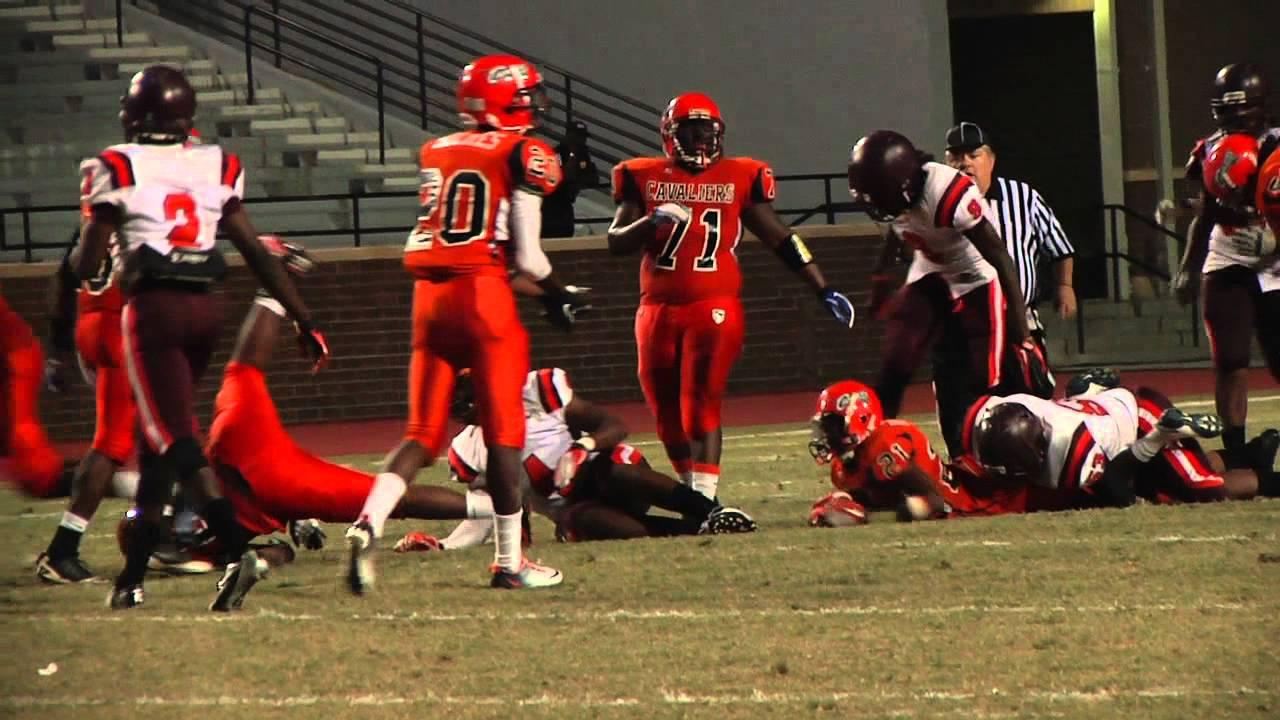 2012 first and ten football highlights: orangeburg-wilkinson vs