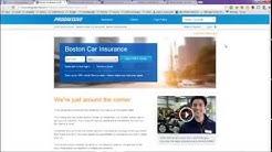 Boston Auto Insurance, MA Massachusetts