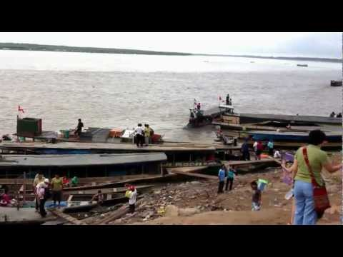 Port of Pucallpa before 12hr ride up Ucayali river