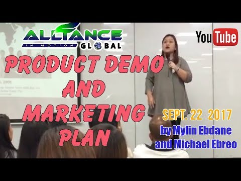 PRODUCT DEMO and MARKETING PLAN PRESENTATION IN ONE! (AIM GLOBAL)