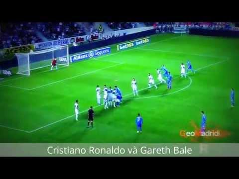 Những pha xử lý bóng đẳng cấp của Cristiano Ronaldo và Gareth Bale