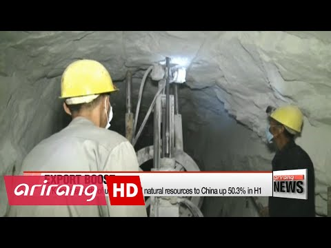 N. Korea's exports of unsanctioned natural resources to China up in H1