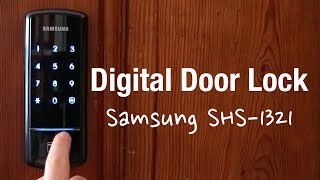Samsung Digital Door Lock SHS-1321 (Review & Installation)