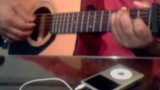 Main Jahan Rahon Rahat Fateh Guitar solo instrumental