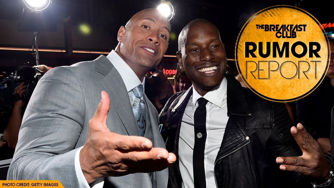 Tyrese Discusses His Beef With The Rock