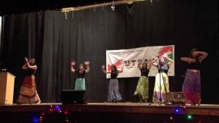 Bollywood Dance - Mind Blowing Mahiya/Rangeelo Maro Dholna - Mehfil 2012