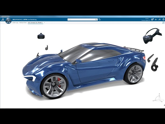 Virtual Reality in CATIA Design on the 3DEXPERIENCE platform