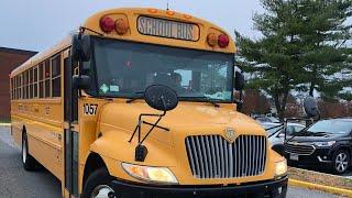 Buses at Harborfields High School