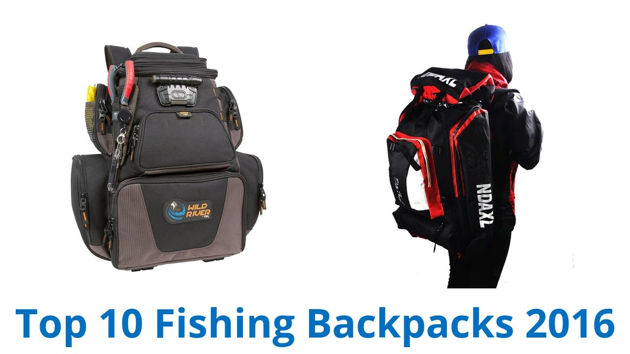 10 Best Fishing Backpacks 2016 - YouTube
